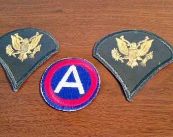 U.S. army military patches