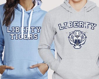 13RW Liberty Tigers Hoodies (4 colors options and 2 text options)