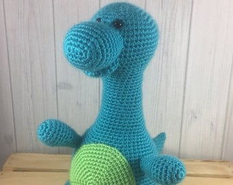 Stuffed Dinosaur - Brontosaurus - Stuffed Animal - Dinosaur Nursery - Stuffed Dinosaur Toy