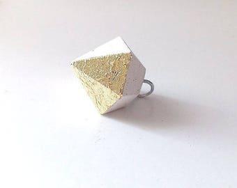 Concrete pendant , small cemente pendant,  modern jewelry