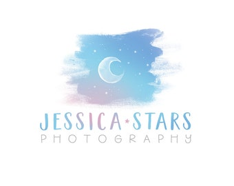 Logo Design Branding, Photography Logo, Small Business Logo, Custom Logo, Logo Design Package, Affordable Logo, Moon Logo, Logo Branding