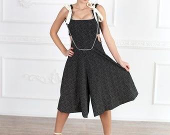 Black Jumpsuit Womens Jumpsuit Maxi Dress Plus Size