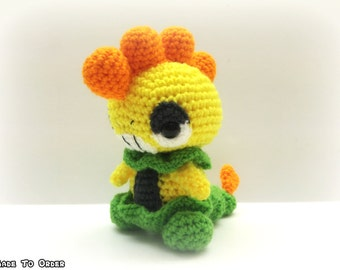 Crochet Scrafty Inspired Chibi Pokemon