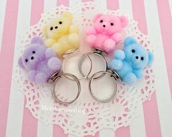 Teddy Bear Ring (choose your favorite)