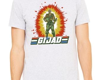 G.I. Dad Tee, t-shirt, dad shirt, t shirt, gift for dad, dad stuff, funny