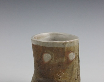 Unglazed Side-Fired Guinomi Style Cup