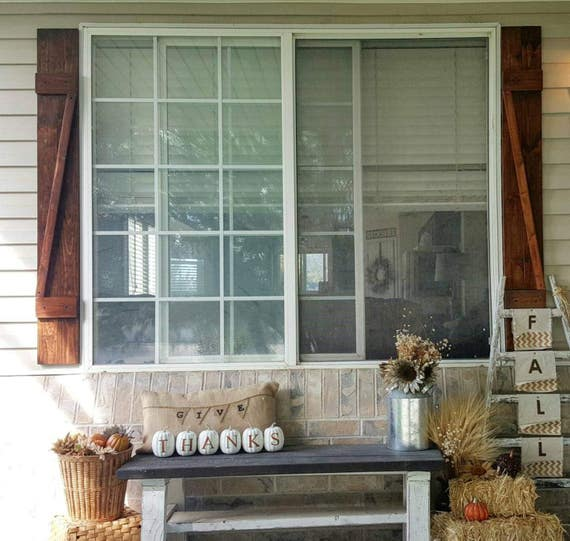 Shutters - Set of Shutters - Window Shutters - Outdoor Shutters