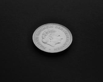 Dutch Silver Coin - 10 Gulden - Collectible Dutch Coin 1970 - Nederland Herrijst 1945-1970 - Juliana - 25 Years of Liberation