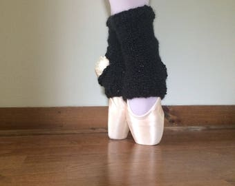 Cozy Ankle Warmers: Wednesday Addams