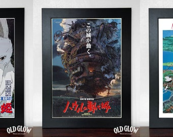 Studio Ghibli Poster Set - 5 A3 Posters