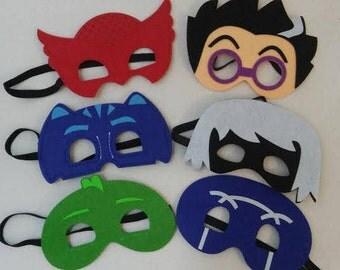 PJ Mask Superhero Mask Party Favors Hero Costume