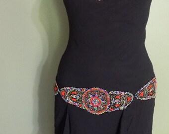 Vintage Sue Wong Dress, Sue Wong, Sue Wong Evening Dress, Evening Dress, Beaded Dress, Vintage Dress
