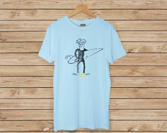 Surfer T-Shirt - Who Doesn't? - Funny T shirt - Surfing - Surf T-shirt