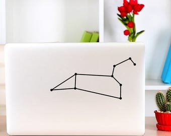 Leo Constellation, Astronomy, Stargazer, Stars, Astrophysics, Sky Watching, Astrology, Macbook Decal, Apple Macbook, iPad and other laptop