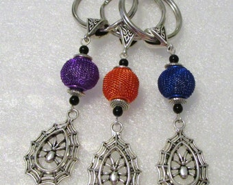 1058 - CLEARANCE - Beaded Key Ring