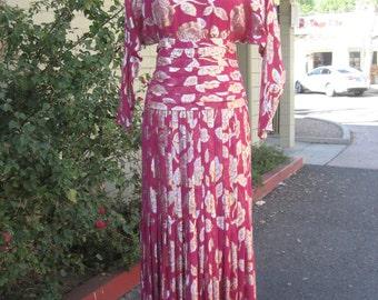 Rare Evenings Raul Blanco Neiman Marcus vintage evening dress