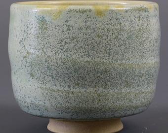 Tea Bowl in Freckles Glaze