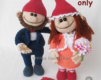 Love story bundle, crochet patterns amigurumi pdf