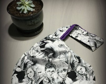Harry Potter Japanese knot bag (Free gift included!)