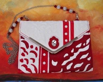 Hand Painted Handbag by Perulpa