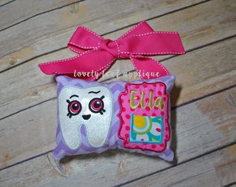 DIGITAL ITEM: Wide-eyed Tooth Fairy Pillow ITH Design 5x7 Hoop
