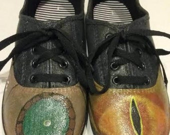 Hand-Painted Lord of the Rings Shoes