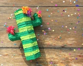 Mini Cactus Pinata (3), Cactus Party, Mexican Party Favors, Cinco de Mayo, Bachelorette, Birthdays Set of 3
