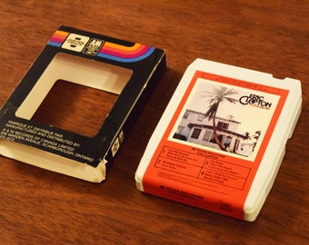 Eric Clapton 8track Music Cartridge - Very Good Condition with Original 8 Track Sleeve - 461 Ocean Boulevard - Made in Canada