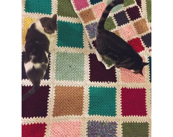 Blanket & Cat Mat Sets