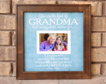 grandparent gifts grandparent frame grandma picture frame grandmother frame grandparent personalized frame grandparent 15x15