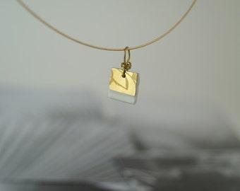 Samantha -  porcelain chain