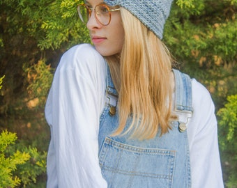 Button-Up Crochet Beanie Pattern – Luxurious Layers Collection – Beanie Pattern – 5 sizes included