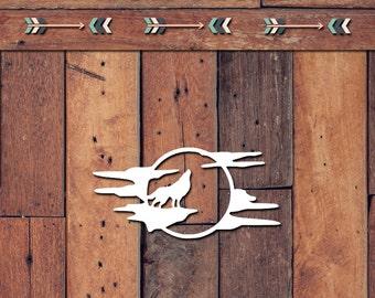 Wolf Decal | Yeti Decal | Yeti Sticker | Tumbler Decal | Car Decal | Vinyl Decal