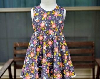 Summer Floral Charlotte Dress