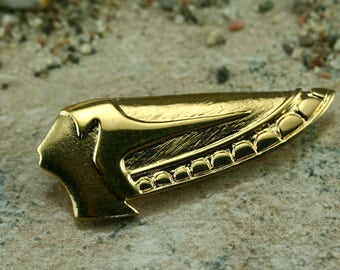 Metal brooch, egyptian brooch, pharaon brooch, antique brooch, egyptian jewelry, pharaon jewelry, silver brooch, gold brooch, egyptian gift