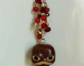 Flash TV Show DC Comics Funko Pop Ornament, Decoration, Suncatcher. Perfect for home, office, or car! Great guy or girl geek gift.