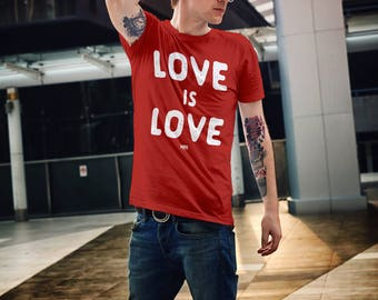 LGBT T-Shirt, Gay Marriage Tee, Pride Gifts, 2017 Pride Gifts, Love Is Love Shirt, Equal Love, Gay Rights, Lesbian Rights, Equality, LGBT