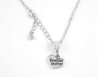 Special Mother Necklace  Mom Mommy Jewelry necklace Special Mommy Family Mother Nana Mimi Oma Diamond Cut Chain Necklace