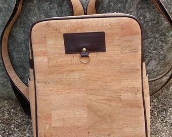 Cork Backpack/ Vegan Backpack/ Water Resistant Backpack/Daypack / Weekender Bag/ Travel Backpack