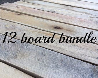 Reclaimed Pallet Wood Boards, DIY Project Wood, Rustic Weathered Wood for Signs, Pallet Wood Projects, Wooden Planks, Farmhouse Pallet Wood