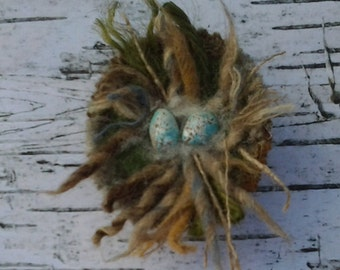 Bird's Nest Brooch.