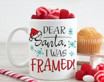 Christmas coffee mug | Etsy