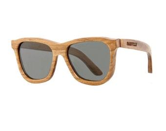 Handmade Teak Wooden Polarized Wayfarer Sunglasses | Wooden Sunglasses | Mens Sunglasses | Womens Sunglasses | Wayfarer Sunglasses | Shades