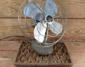 Vintage Manning Bowman Fan Model No. 41, Industrial, Farmhouse Chic