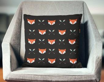 Fox Pillow | Fox Throw Pillow | Fox Pillow Cover | Fox Cushion | Fox Pillow Case |  Fox Pillow Cover | Fox Decor | Fox Home Decor