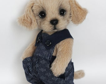 OOAK cute teddypuppy Alex( Adopted)