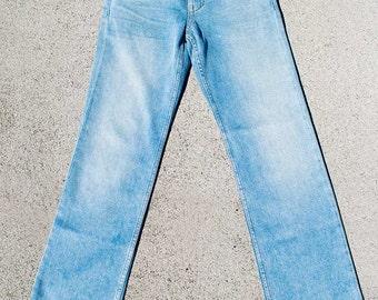 Men's Light Wash Hemp Denim Jeans