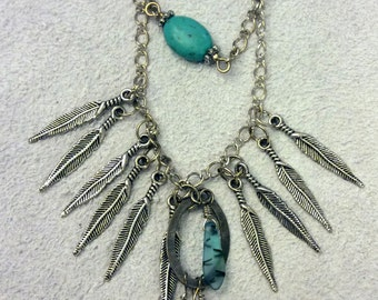 Feathers! Necklace