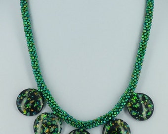 Beautiful Kumihimo necklace
