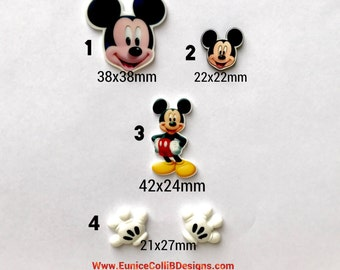 micky mouse inspired planar resin